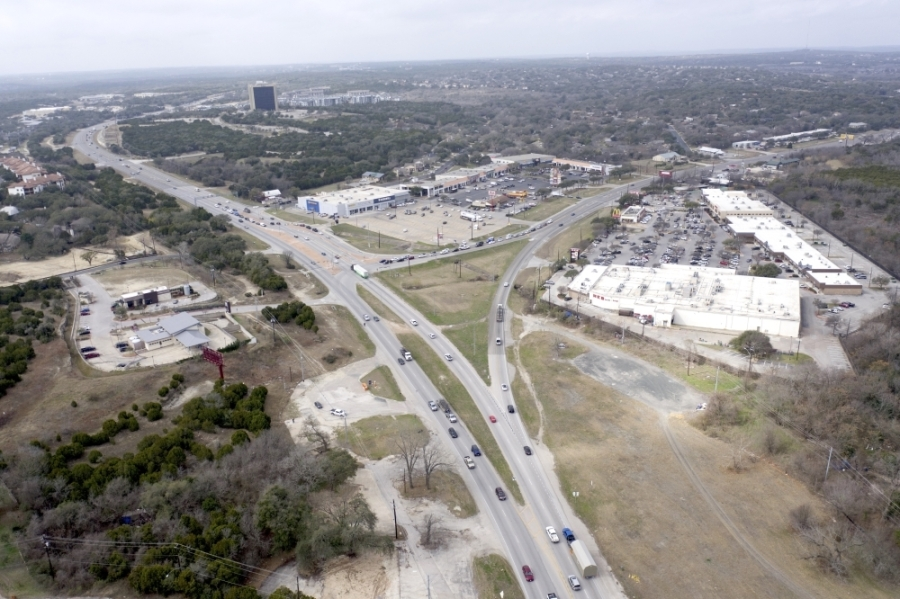 TxDOT will stop removing trees as a part of the Oak Hill Parkway project until the injunction hearing Sept. 2. (Courtesy Falcon Sky Photography)
