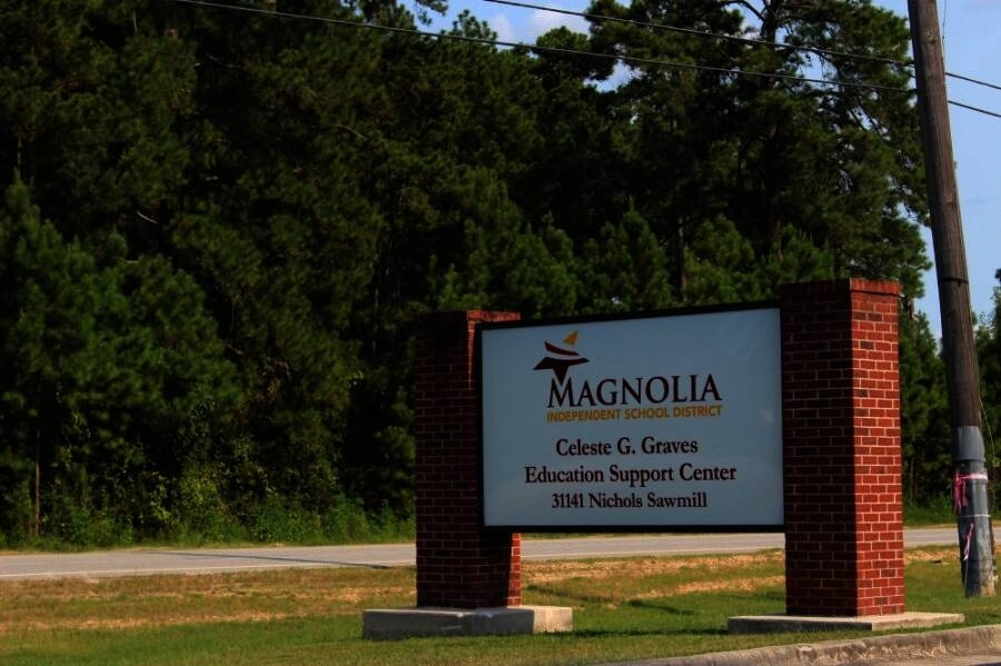 The Magnolia ISD board of trustees proposed a property tax rate of $1.1872 per $100 valuation at its workshop Aug. 2. (Community Impact Newspaper staff)