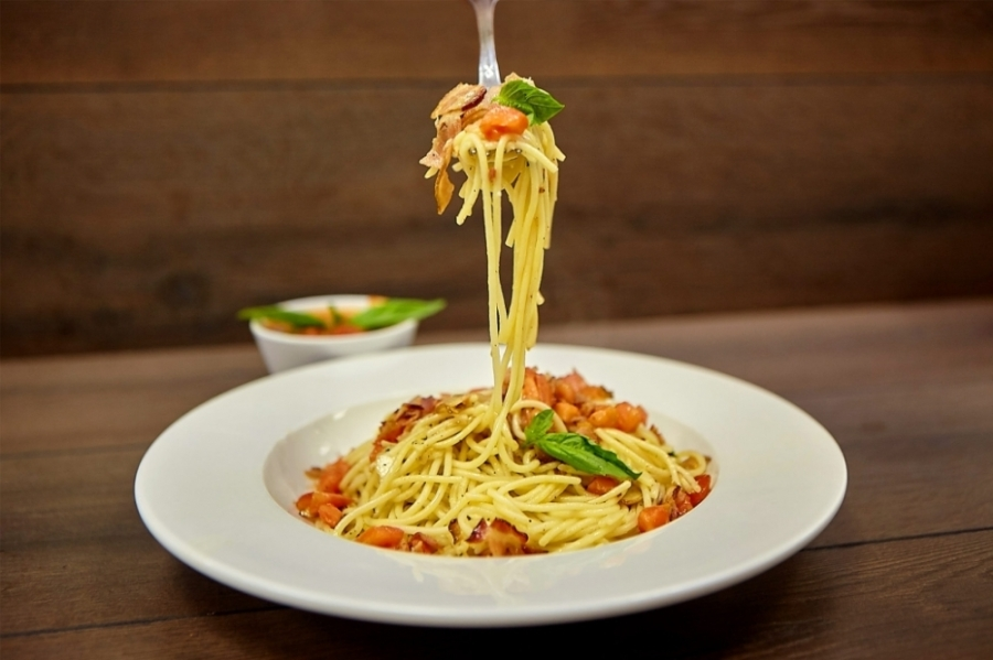 Menu items at Adriatic Cafe include pasta, pizzas, calzones, seafood and other Italian classics. Adriatic Cafe Italian Grill (Courtesy Adriatic Cafe)