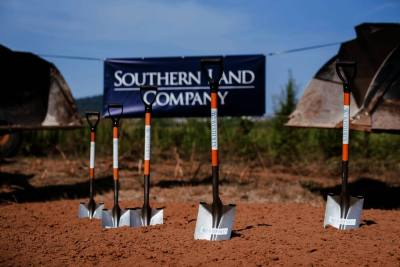 Officials broke ground July 30 on a new active adult community open to residents age 55 and older. (Courtesy Westhaven, Southern Land Co.)