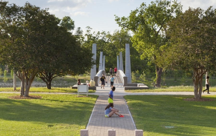 According to a University of Houston-Clear Lake study, safety, maintenance, a relaxing atmosphere and easy parking are big factors for residents when choosing to enjoy leisure activities at a park. (Courtesy Visit Houston)