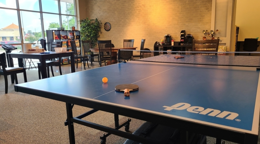 The center is also equipped to teach leisure and recreational skills, where clients can engage in pingpong or video game competitions. (Courtesy Including Kids Autism Center)