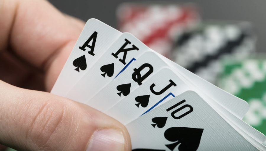 The new poker club opened in July. (Courtesy Hideaway Social Poker Club)