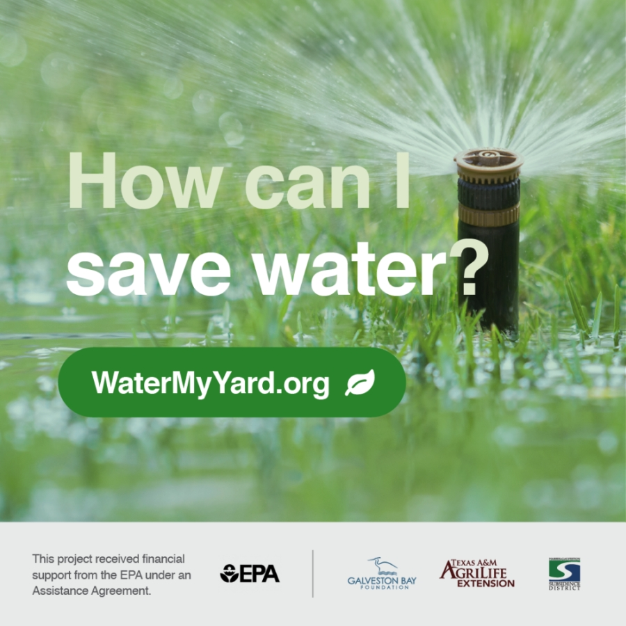 The program, which has provided irrigation recommendations for homeowners in North Texas since 2012, has expanded to other areas of the state including greater Austin and Houston, Lubbock, and San Angelo. (Courtesy of Galveston Bay Foundation)