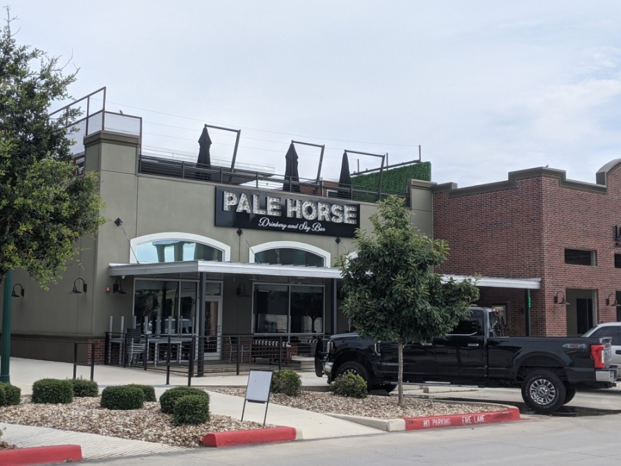 Pale Horse Drinkery & Skybar closed in late July. (Lauren Canterberry/Community Impact Newspaper)