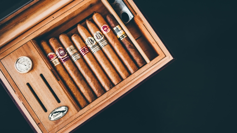 At the The Spot Cigar and Bourbon Lounge, customers can purchase and enjoy premium cigars. (Courtesy Pexels)