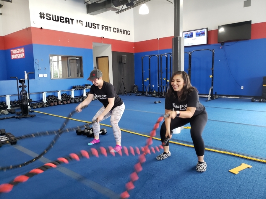 After more than a decade of combined training and fitness experience, JessE and Ashley decided to put that passion into a business of their own. (Ali Linan/Community Impact Newspaper)