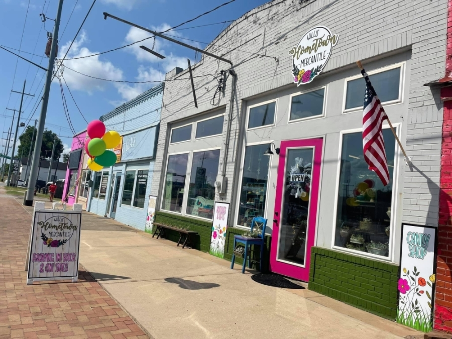 Willis Hometown Mercantile opened Aug. 7 on North Danville Street. (Willis Hometown Mercantile)