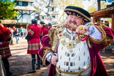 The Texas Renaissance Festival is set to return to Todd Mission for eight weekends this fall. (Courtesy Kirsten Darnell/LoveAdv)