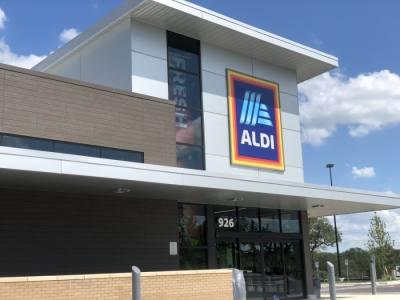 Aldi is located at 936 W. University Ave., Georgetown. (Fernanda Figueroa/Community Impact Newspaper)