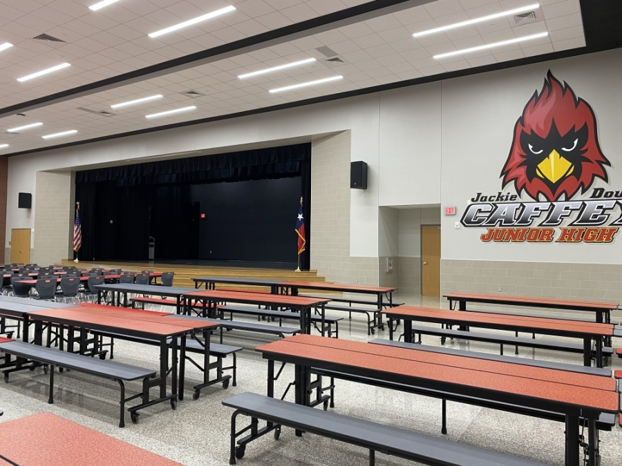 The newest school coming to the district is Jackie Doucet Caffey Junior High School. (Courtesy Alvin ISD)