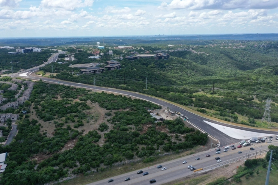 A portion of a bypass road in the Four Points area opened July 19. (Courtesy Texas Department of Transportation)