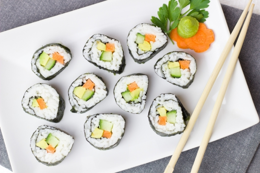 Misu Sushi offers a variety of Chinese and Japanese-style food. (Courtesy Pexels)