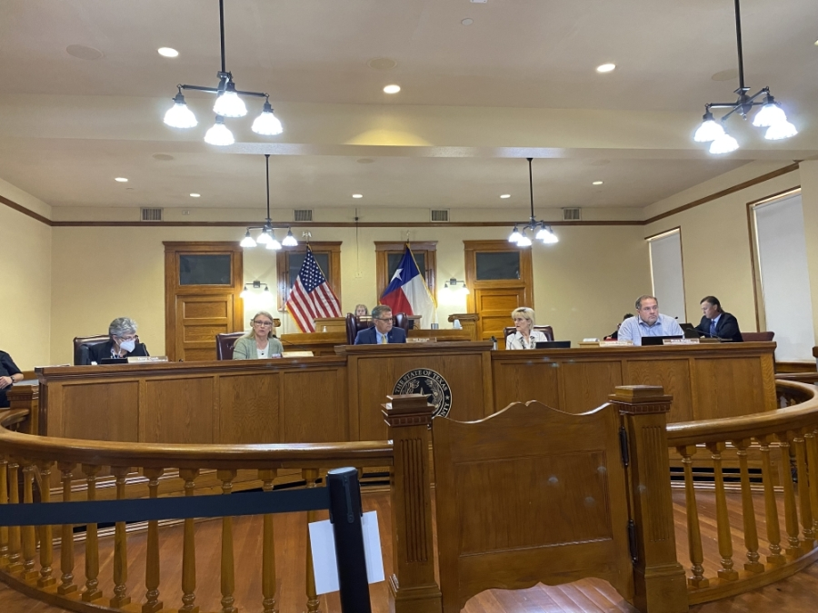 Williamson County commissioners approved filing the lawsuit against the city Aug. 17. (Trent Thompson/Community Impact Newspaper)