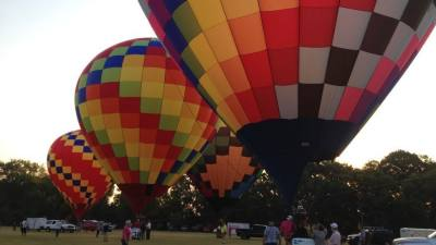 The festival, which was canceled last year due to the pandemic, was also called off in 2018 because of flooding concerns. (Courtesy H-E-B Central Market Plano Balloon Festival)
