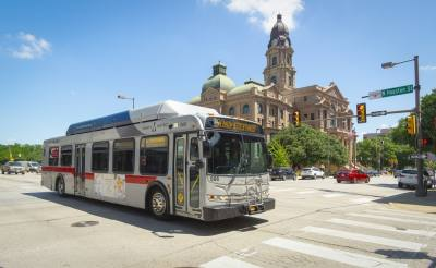 Trinity Metro's newly redesigned bus system will include increased frequency and extended hours. (Courtesy of Trinity Metro)