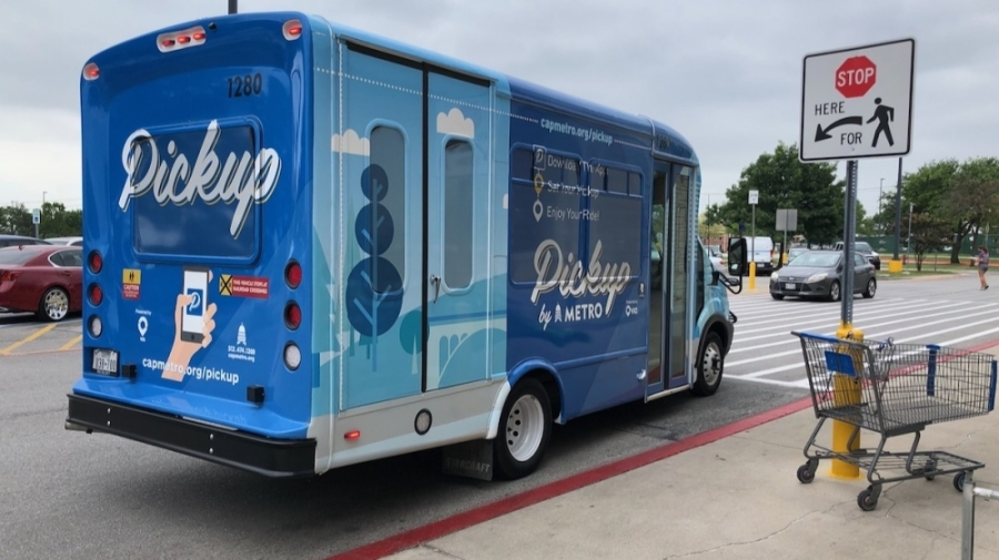 Starting Aug. 16, Capital Metro is expanding the service area for its Pickup service in the Leander and northeast Austin zones. (Benton Graham/Community Impact Newspaper)