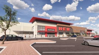 A new H-E-B in Oak Hill will replace the smaller, existing store in Center of the Hills shopping center. (Courtesy H-E-B)