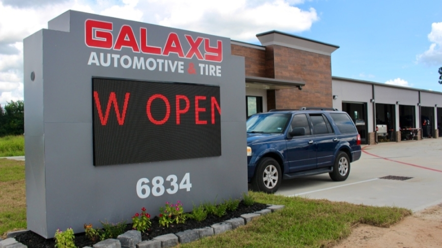 Galaxy Automotive and Tire on Aug. 16 opened at 6834 Broadway St., Pearland. (Andy Yanez/Community Impact Newspaper)