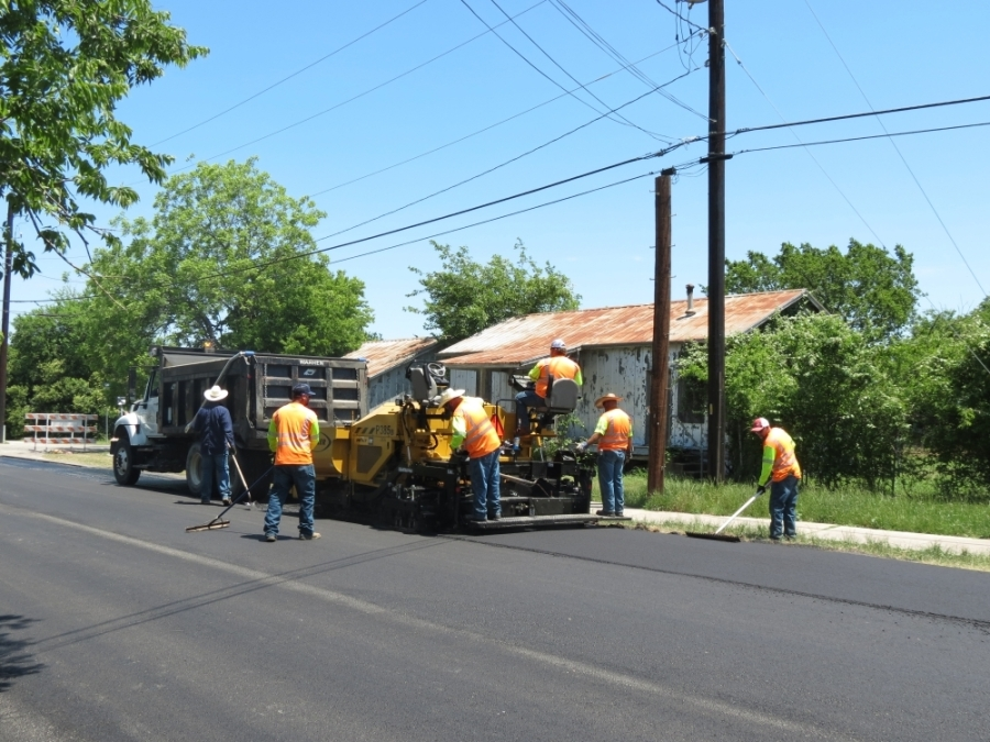 The city of Georgetown expects to spend $2.8 million on 129 street resurfacing projects. (Courtesy city of Georgetown)