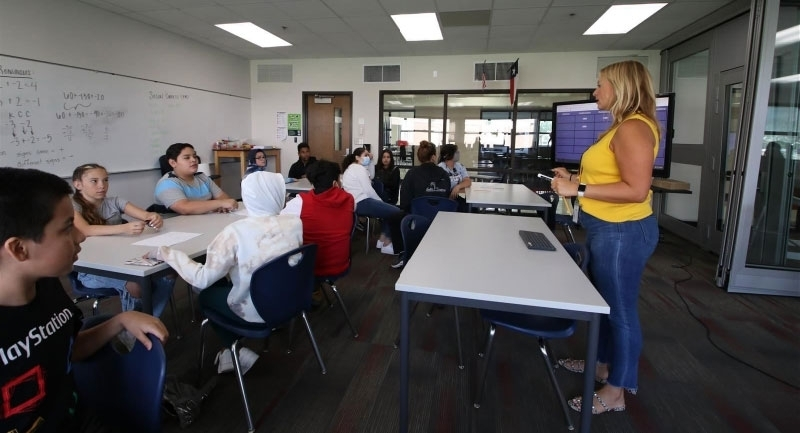 Georgetown ISD began its JumpStart summer program to help students close any learning gaps and prepare for the upcoming school year. (Courtesy Georgetown ISD)