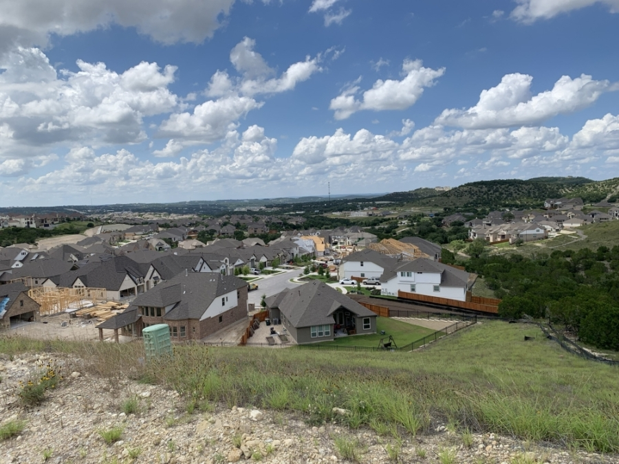 The median price of area homes climbed 34.4% in July 2021 to $871,00, according to the Austin Board of Realtors. (Greg Perliski/Community Impact Newspaper)
