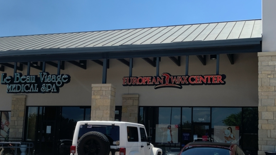 front of European Wax Center