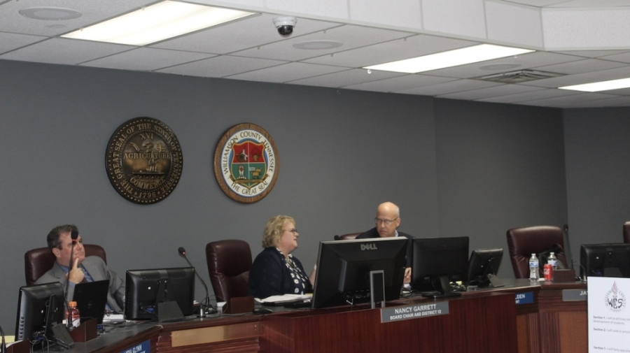 The Williamson County Schools Board of Education will meet for a special meeting Aug. 26. (Wendy Sturges/Community Impact Newspaper)