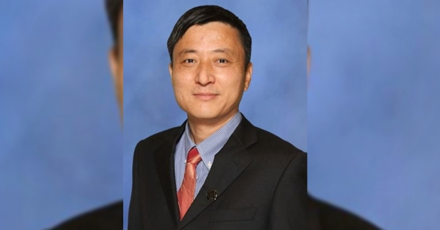 Place 1 Trustee Jun Xiao announced his intention to resign at the next regular board meeting. (Courtesy Round Rock ISD)
