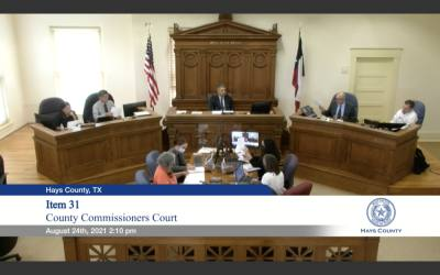 The Hays County Commissioner's Court unanimously voted to allot $5 million to create a public defender's office.