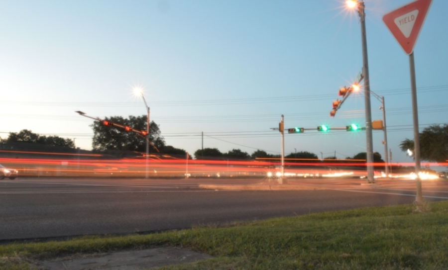 RM 620 and Anderson Mill Road intersection in Northwest Austin