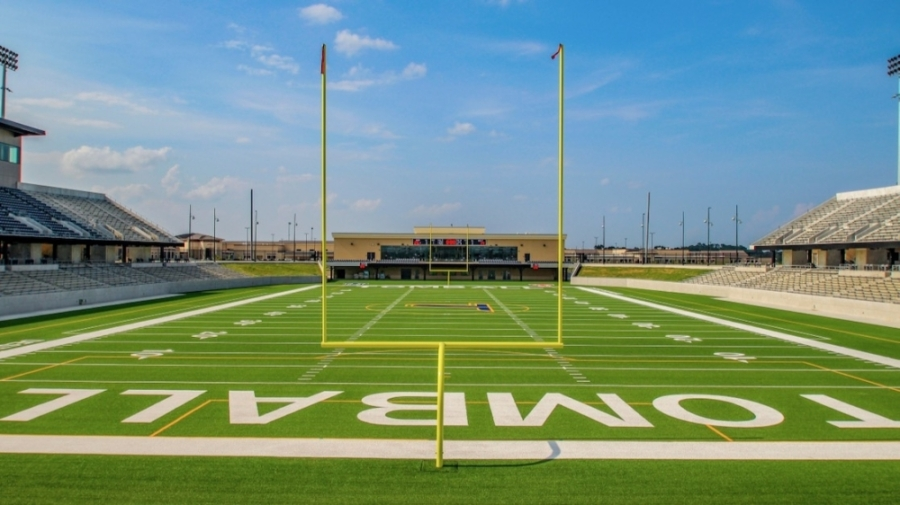 Tomball Memorial High School will play against Nimitz High School in the first football game in Tomball ISD's new stadium. (Courtesy Lockwood, Andrews and Newnam Inc.)