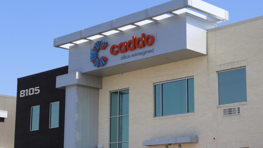 The first Caddo Office in Plano is located at 8105 Rasor Blvd. (Erick Pirayesh/Community Impact Newspaper)