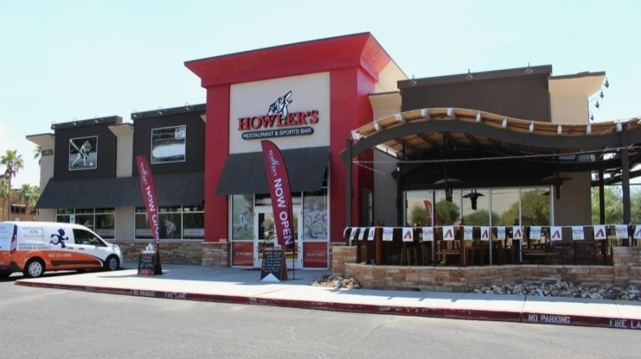 Howler's Restaurant & Sports Bar originally opened in Gilbert in July 2020. (Tom Blodgett/Community Impact Newspaper)