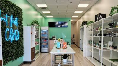 CBD Modern will host its grand opening on Aug. 28 with appetizers, sales and gift bags for customers. (Courtesy CBD Modern)