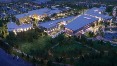 A rendering of the Tarrant County College Northwest campus's upgrades is shown. (Courtesy Tarrant County College)