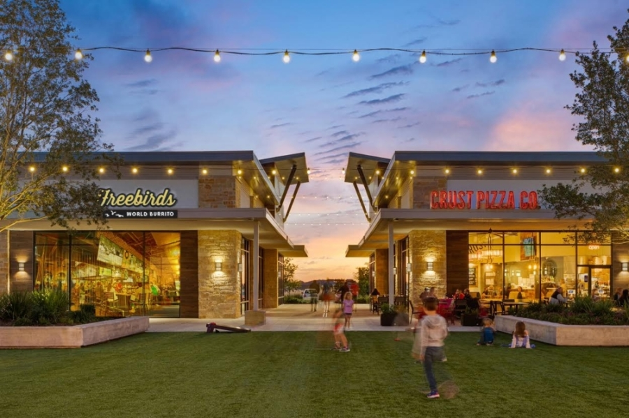 Freebirds is set to open next door to Crust Pizza Co. at Katy's Stableside development. (Courtesy NewQuest Properties)