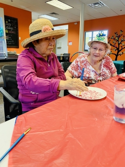 Seniors have the opportunity to participate in various activities at the social club. (Courtesy BuSY Day Senior Club)