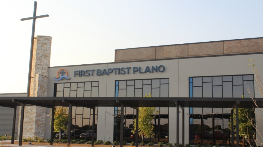 According to its website, The First Baptist Church of Plano can be traced back to 1852 with the founding of Spring Creek Baptist Church. (Erick Pirayesh/Community Impact Newspaper)