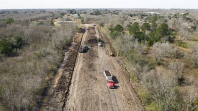 The extension of McHard Road in Pearland is one of three major projects the city is working on to address traffic congestion. (Courtesy city of Pearland)