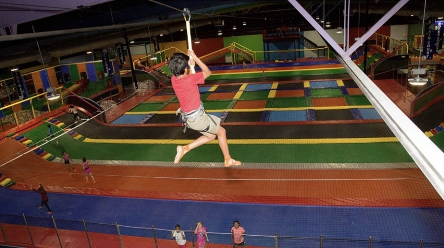 Bounce Bounce Trampoline Park is slated to open in Missouri City in late September or early October. (Courtesy Bounce Bounce Trampoline Park)