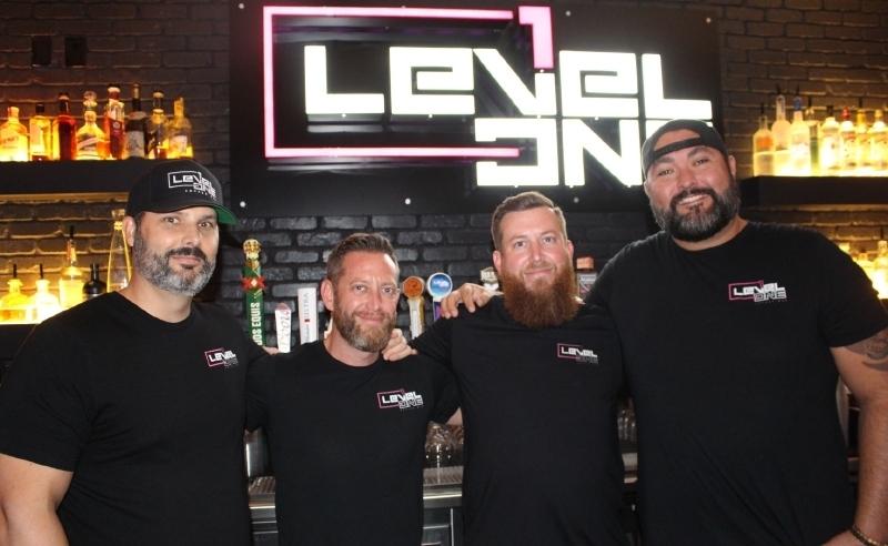 Level 1 Arcade Bar, Scott Goldsmith, TJ Tillman, Steve Tillman, Adam LeRoy