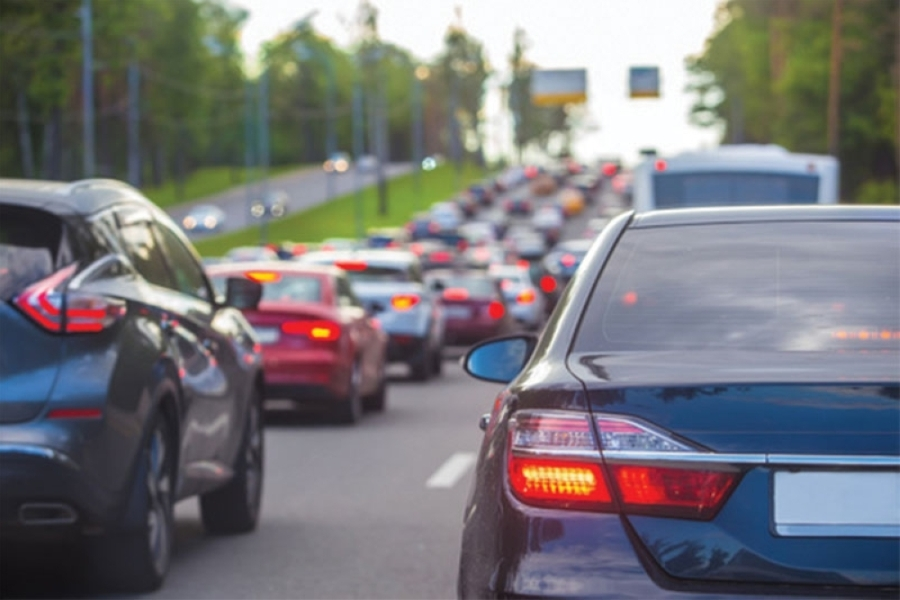 The Austin Transportation Department said that a recent surge in COVID-19 cases and people continuing to work from home play a role in traffic's slow return. (Courtesy Fotolia)