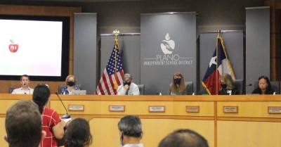 The Plano ISD board of trustees heard from 10 public speakers requesting stricter health and safety protocols during its Aug. 17 meeting. (William C. Wadsack/Community Impact Newspaper)