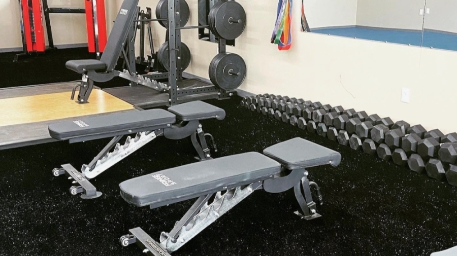 Hutto Fitness Center offers personal training services to individuals and groups. (Courtesy Hutto Fitness Center)
