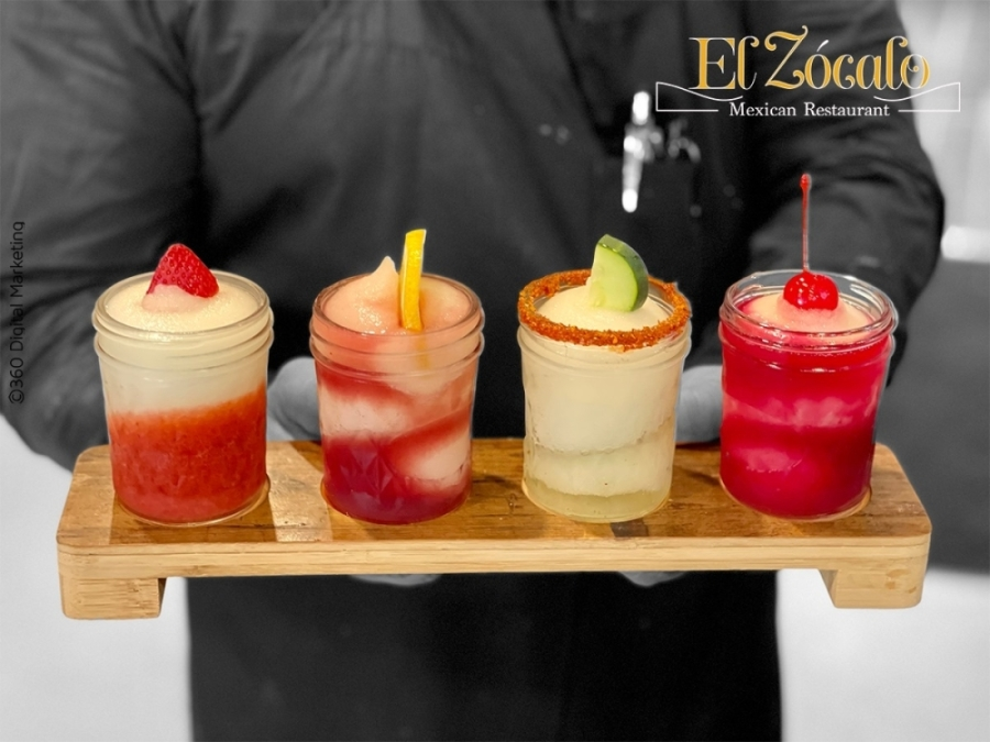 The family-owned restaurant offers a menu of traditional Mexican and Tex-Mex dishes for lunch and dinner, a full bar with eight margarita flavors and a children's menu. (Courtesy El Zocalo Mexican Restaurant)