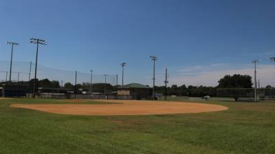 Tomball City Council authorized lighting upgrades to fields 3, 4 and 8 of Wayne Stovall Sports Complex at its meeting Sept. 7. (Chandler France/Community Impact Newspaper)