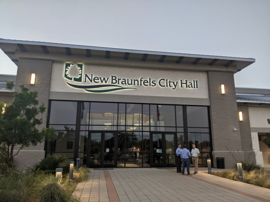 The city will continue to stream live videos of some meetings, and recordings will be available on the city website. (Lauren Canterberry/Community Impact Newspaper)
