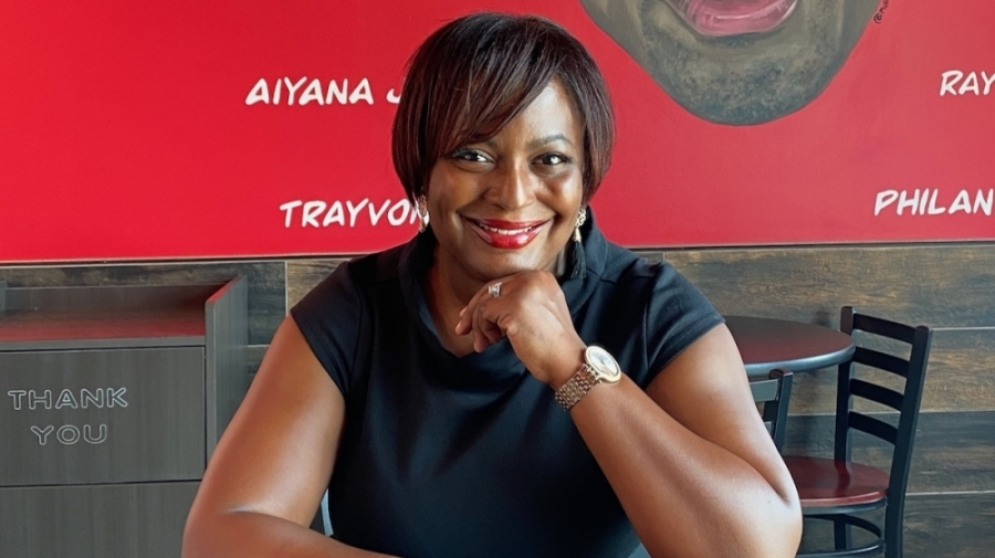 Flava Wings owner Krishna Buford opened her restaurant on May 27, 2020. (Courtesy Flava Wings)
