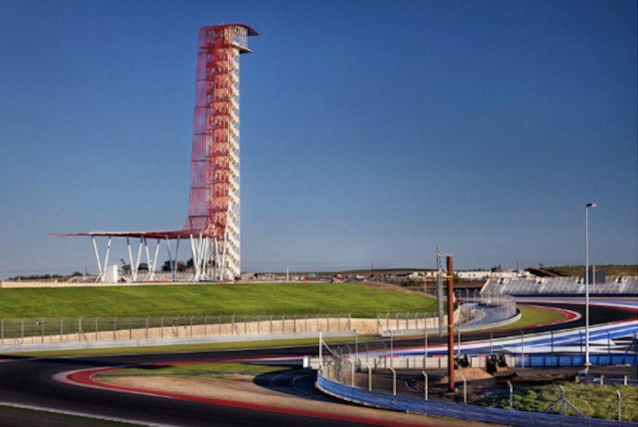 The Samaritan Center will invite attendees to climb its 251-foot Circuit of Americas Observation Tower in honor of victims and heroes of 9/11. (Courtesy Samaritan Center)